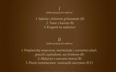 Zobaczcie menu lunchowe, które czeka na Was od dziś do piątku w naszej Restaurac…