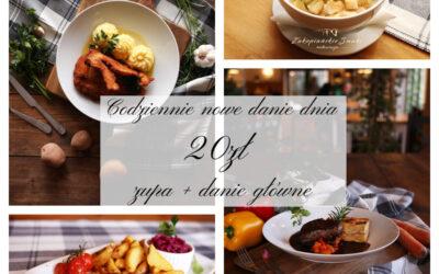 Witajcie Kochani 😘 ❗Zaczynamy nowy tydzień ❗ Dzisiejsza propozycja dla was : ❄️ZUPA (jedna do wyboru): 🥄 Rosół z makaronem 🥄 Pomidorowa z ryżem ✅ Zupa pieczarkowa z makaronem (V) ❄️DANIE GŁÓWNE (jedno do wyboru): 🍴Pieczeń rzymska z jajkiem, kluski śląskie i surówka z czerwonej kapusty 🍴Kotlet De Volaille z ziemniakami puree i zestawem surówek 🍴 Schabowy z ziemniakami i kapustą zasmażaną ✅ Tagliatelle z warzywami w sosie słodko- ostrym (V) 💵Cena zestawu: 20,00 💵 🍕Polecamy PIZZĘ🍕💕 🕕Zamówienia przyjmujemy od 12:00 do 18:00 ☎️ 18 20 130 77☎️ 🚙Odbiór osobisty lub dowóz 🚙 Zapraszamy 😋